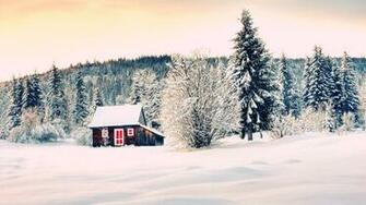 The Winter House Mac Apple Wallpaper Trip Mac Background