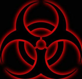 Red Biohazard Symbol Wallpaper Biohazard symb