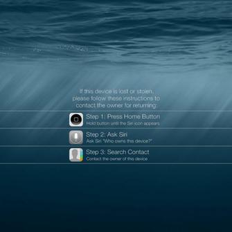 iPad Lock Screen Wallpaper Encouraging Return by YJCH0I