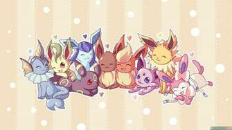 Eevee Evolutions Wallpapers