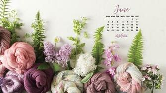 Downloadable June 2018 Calendar   KnitPicks Staff Knitting Blog