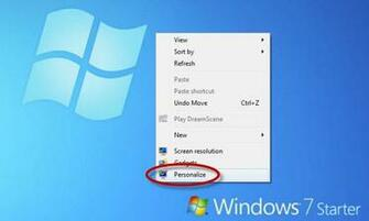 Customize the wallpaper in Windows 7 Starter Edition Tips Softonic