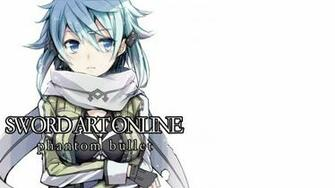 asada shino sinon gun gale online phantom bullet arc sword art online