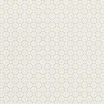 Shadows on the Wall Beige and White Snowflake Wallpaper