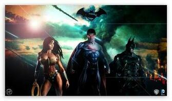 Superman Batman Wonderwoman DC HD desktop wallpaper High Definition