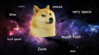 Doge in SPACE   Doge Wallpaper 1920x1080 14011