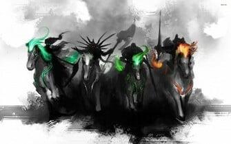 The Four Horsemen wallpaper   1082161
