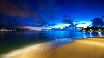 Beach Sunset Cool Twitter Background