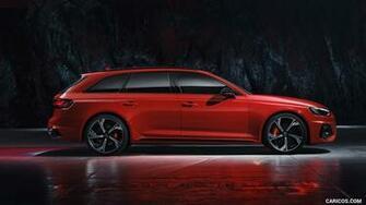 2020 Audi RS 4 Avant Color Tango Red HD Wallpaper 33