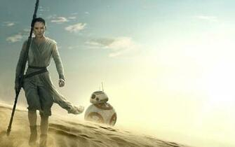Star Wars The Force Awakens Rey BB 8 Wallpapers HD Wallpapers