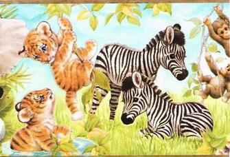 Wild Animal Wallpapers Wild Animal Wallpaper Border