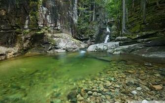 Sabbaday Falls New Hampshire 4K HD Desktop Wallpaper for 4K