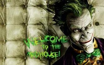 Video games the joker batman arkham asylum wallpaper 1920x1200
