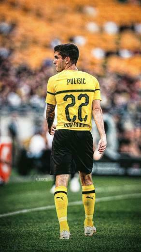 Fredrik on Twitter Christian Pulisic wallpapers cpulisic 10 BVB
