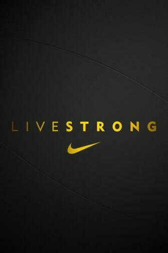 iPhone Wallpapers Livestrong Nike Tweet This Bookmark this on