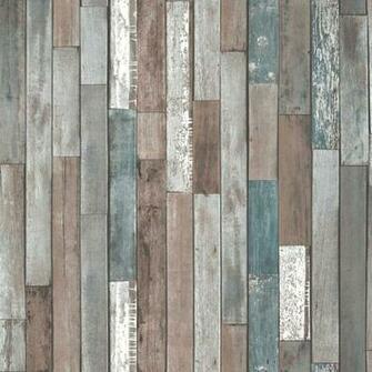 Fine Decor Reclaimed Wood Wallpaper   Multi FD40888