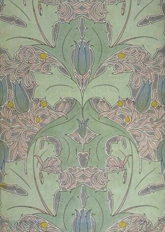 Download voysey wallpaper 1800x1408 49 voysey - Bat and poppy wallpaper ...