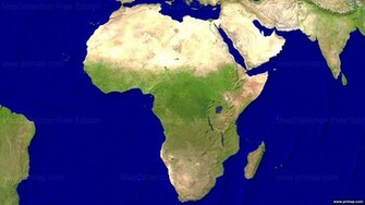 Africa Satellite Map HD Walls Find Wallpapers
