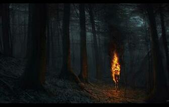 Wallpaper torch ashen falls fire woods nitgh images for desktop