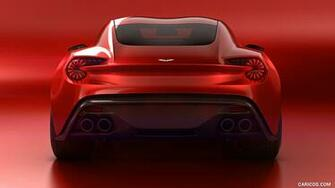 2016 Aston Martin Vanquish Zagato Concept   Rear HD Wallpaper 8