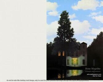 Rene Magritte Paintings Wallpaper 1280 x 1024