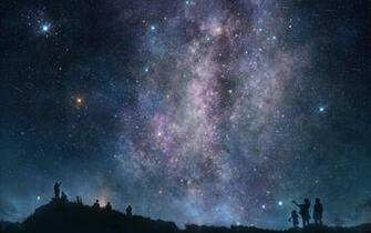 Night sky wallpaper 18397