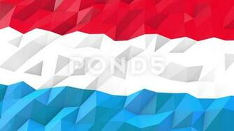 Flag of Luxembourg 3D Wallpaper Illustration Video 66398605