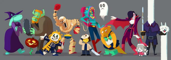 Undertale Halloween by Art Calavera