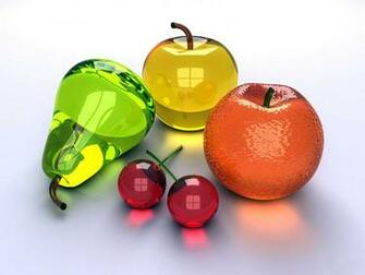 wallpapers Glass Fruits
