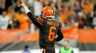 Browns Jets Baker Mayfield leads Clevelands first win in 635