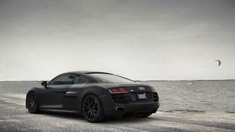 Wallpaper Audi R8 schwarz  See  Tuning matt audi Auto Autos