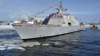 USS Milwaukee LCS 5 lead ship Freedom class littoral combat USA