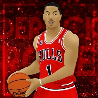 Derrick Rose Wallpaper by SinEniS