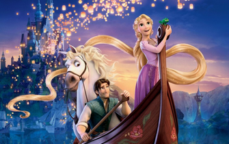 Tangled Musical Disney Desktop Wallpaper