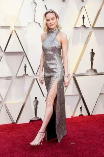 Actresses afbeeldingen Brie Larson 2019 Oscars red carpet HD