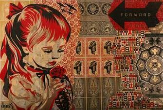 Shepard Fairey   Illustration work