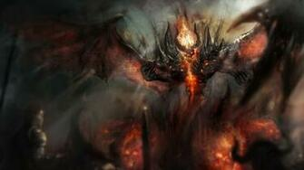Download 1920x1080 HD Wallpaper dota 2 nevermore demon smoke fire