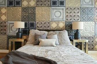 Tin Tile Not Just for Ceilings Anymore Apartment Therapy
