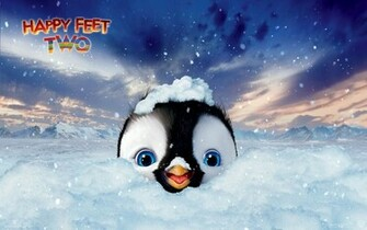 Happy Feet Two Cute Penguin HD Wallpaper