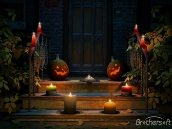 Download Happy Halloween 3D Screensaver Happy Halloween 3D