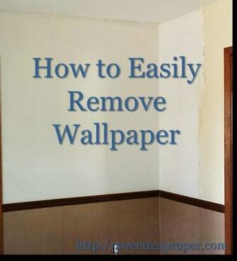 how to remove wallpaper easy removing wallpaper diy home renovation
