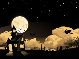 Learned I Share 2012 Halloween WallpapersPowerPoint Templates