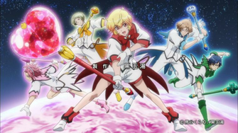 Cute High Earth Defense Club LOVE First Impressions [the