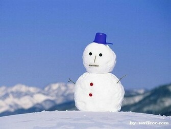 Shots of WinterSnowman wallpaper   Winter Wallpaper