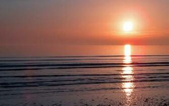 Ocean Sunset Wallpaper for PC Full HD Pictures