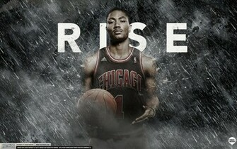 Derrick Rose Rise Wallpaper by Angelmaker666 on deviantART