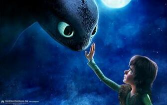 Gallery For gt Toothless And Hiccup Touch