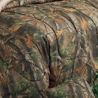 Realtree Hardwoods Forest Camouflage Bedding