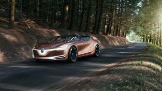 Renault Symbioz Self driving Electric Car 4K Wallpaper HD Car