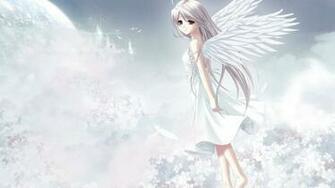 Cute Anime Angel Girl HD Wallpaper   Stylish HD Wallpapers